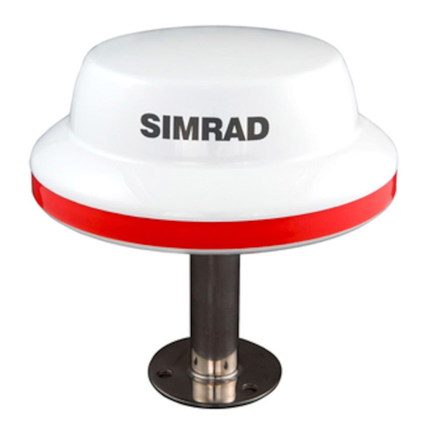 Simrad MX521B D/GNSS Smart Antenna | Simrad Commercial